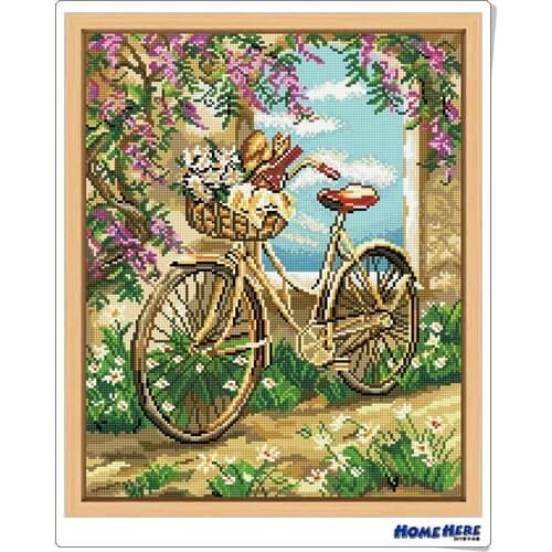 鑽石畫 單車之旅