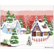 數字油畫 聖誕奇蹟