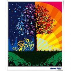 數字油畫 世界樹
