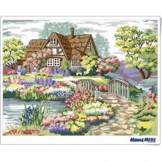 數字油畫 美麗家園