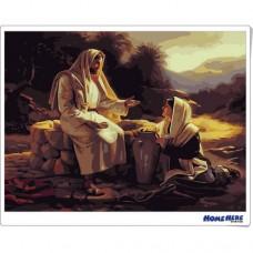 數字油畫 耶穌傳教