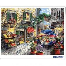 數字油畫 聖保羅小鎮