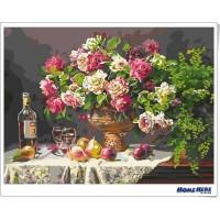 數字油畫 花園饗宴