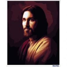 數字油畫 耶穌