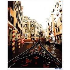 數字油畫 威尼斯