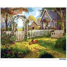數字油畫 最憶家園