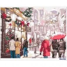 數字油畫 繽紛聖誕