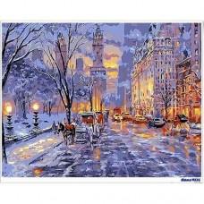 數字油畫 漫步曼哈頓