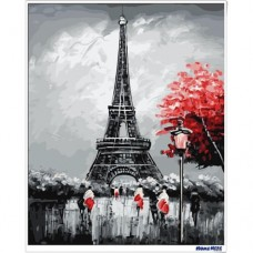 數字油畫 巴黎速寫
