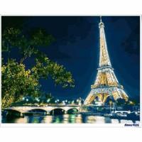 數字油畫 璀璨鐵塔
