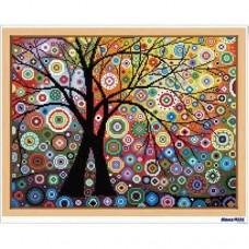 鑽石畫 豐盛之樹