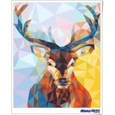 數字油畫 鑽石鹿