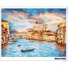 數字油畫 威尼斯 氣勢磅礴