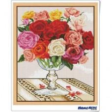鑽石畫 玫瑰之戀