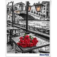 數字油畫 記憶中的玫瑰