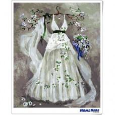 數字油畫 花嫁