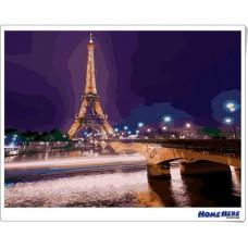 數字油畫 情緣夢巴黎