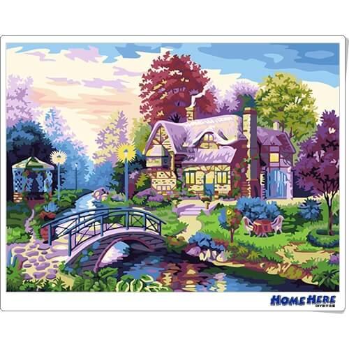數字油畫 幸福家園 預購款 30-45天到貨