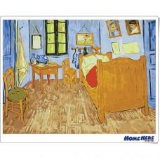 數字油畫 梵谷 阿爾勒的臥室