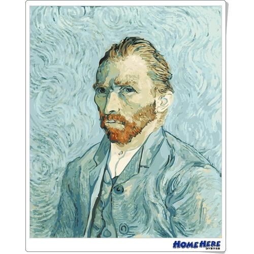 數字油畫 梵谷 肖像畫 - 粉絲回饋價