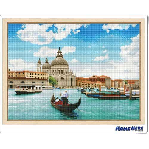 鑽石畫 晴空威尼斯