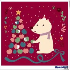 數字油畫 X 插畫家尼果 幸福耶誕 平安