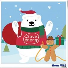 數字油畫 聖誕出任務 搶救老公公北極熊