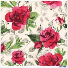 數字油畫 花見 玫瑰