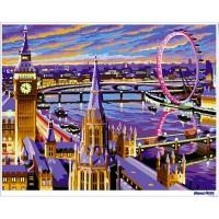 數字油畫 愛在倫敦