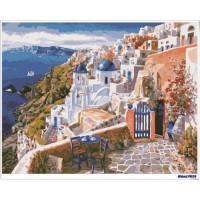 數字油畫 唯美希臘