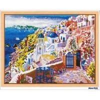 鑽石畫 唯美希臘 (含內外框/環保包裝)