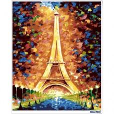 數字油畫 艾菲爾鐵塔 (金屬色)